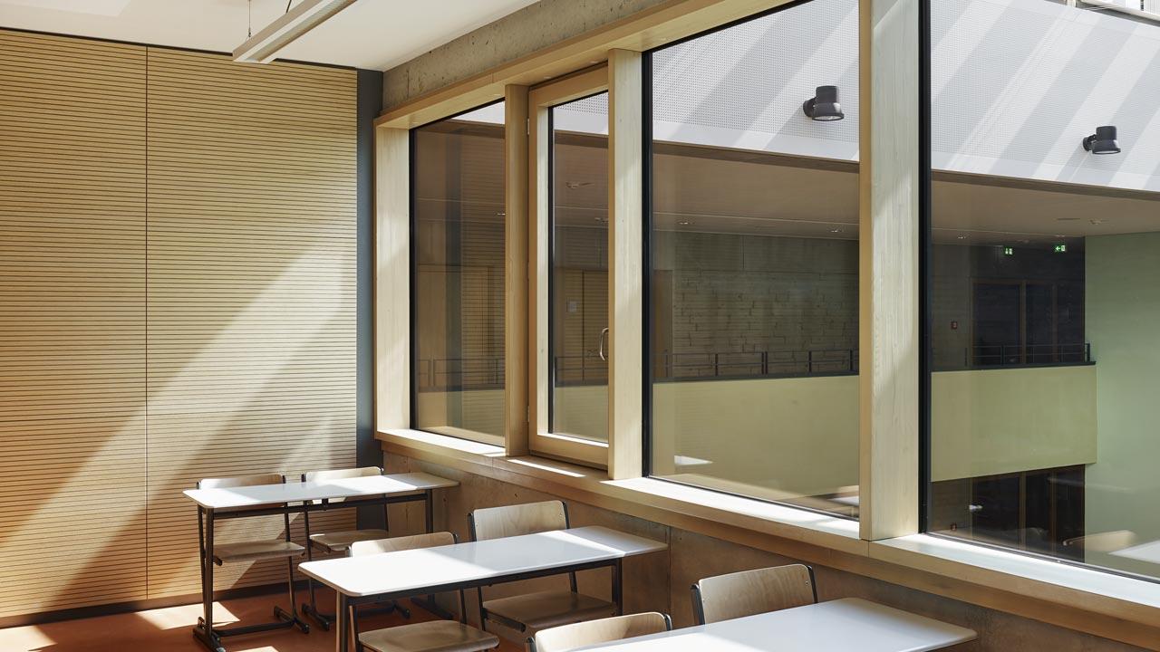 Oberschule Pirna: Fenster