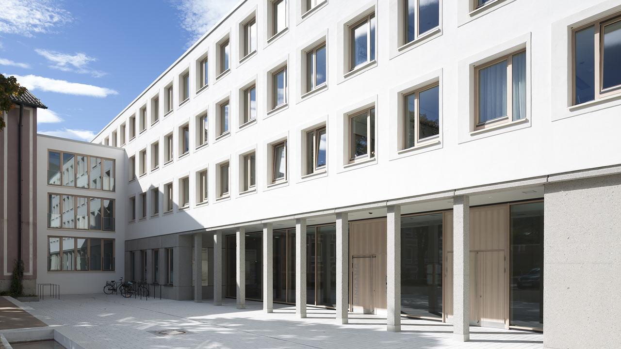 Erweiterung Landratsamt, Garmisch-Partenkirchen: Fenster